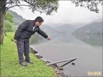 縣府接暗管 公廁污水排入龍潭湖