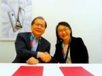 宏達電、中華電信 簽訂2015年合作備忘錄