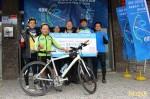 創造「騎」績! 68歲阿伯挑戰2天單車環台950公里