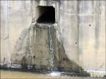 嘉南大圳大洲分線 灌溉水漏3天
