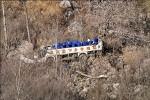 中國劇團巴士墜落陡坡 20死