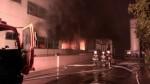 新竹湖口工廠凌晨大火 燃燒50坪無人受傷