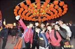 台灣燈會主燈點燈 日湧百萬人