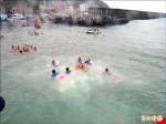 野柳神明淨港 船隊繞行祈漁獲滿艙