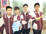 《TAIPEI TIMES 焦點》 Students turn umbrella into self-defense weapon
