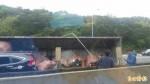 離奇!聯結車國道追撞 廢土擊斃對向小貨車駕駛