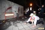 抗議M503 台聯青年軍深夜突襲總統官邸潑漆