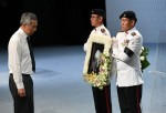 新加坡國葬 李顯龍:跟著李光耀走,不會死的
