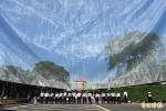 馬英九出席忠烈祠春祭 抗議民眾扔鞋、砸蛋