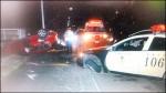 竊賊撞警車突圍 翻車就逮
