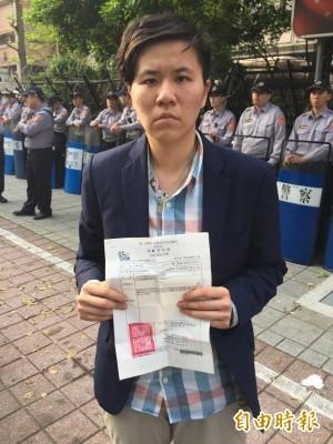抗議亞投行 多名學生指控執法單位施暴