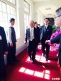 向黨團報告加入亞投行情形 毛揆率閣員拜會王金平