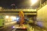 高市中華路地下道限高架 半個月3度出「撞」況