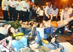 《TAIPEI TIMES 焦點》 Activists protest application through Chinese agency