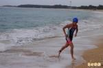 澎湖鐵人3項錦標賽 陽光、沙灘鳴笛起跑