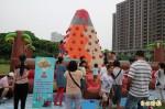 高鐵新竹站前壘球場 1日兒童樂園