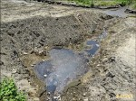外澳海灘遭挖坑溝 糞水恐流入海