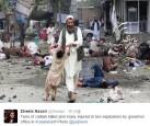 阿富汗連環爆33死 血腥場面怵目驚心