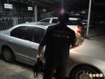 銀行搶案逃逸車尋獲 警研判有共犯接應