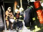 地震釀變電箱爆炸 火竄民宅1死1傷
