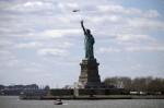 自由女神像遭「詐彈」威脅 遊客緊急疏散