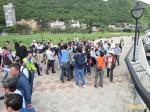 柯文哲夫妻訪基隆 國民黨議員柔性抗議