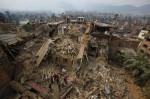 目睹尼泊爾強震 「飯店泳池像海嘯來襲」