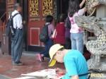 大龍峒保生文化祭開鑼 小學生看廟寫生傳承