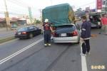 酒測值破表!醉男開小客車追撞大貨車 送醫不治