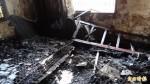 善化民宅火警 一人被火燒燙傷、送醫急救
