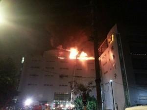 燿華土城廠火災 影響4-5月合併營收5-20%