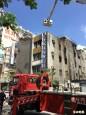 高市新興鬧區火警 65歲男屋主受傷
