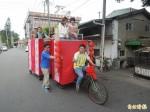 DIY環保藝閣 參加媽祖遶境