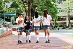 格子裙票選 台南南英商工全國最美