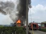 雲林斗南民宅火警 火勢猛烈幸無人傷亡