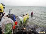 10萬隻沙蟹苗 馬公海域放流