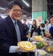 潘孟安推銷鳳梨 打進大阪市場