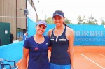 《TAIPEI TIMES 焦點》 Taiwan's Lu, Chan and Chuang eyeing tennis titles