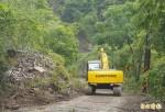 豪雨!阿里山區部分道路塌方鐵路停駛