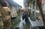 下水道問題? 斗六民宅化糞池穢物被大雨沖上路