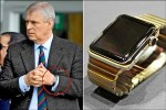英國最潮王子 安德魯戴蘋果金錶