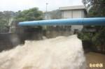 4小時下200毫米雨 牡丹水庫唯一放水
