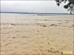 流量暴增900倍 高屏溪水濁度高