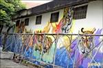 虎爺躍上壁畫 就在牛挑灣