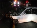 恐怖!正妹自撞殞命 頭七同車男子也撞車身亡