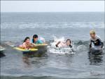 帆船、趴浪課 岳明培養航海王