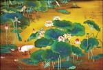 〈蓮池〉認證為國寶 近現代畫家作品第一件