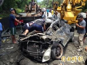 蘇花公路發生重大車禍 2死4輕重傷