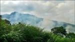 金山火燒山 延燒400坪
