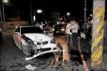 竹警巧遇台中失竊BMW 開4槍逮賊